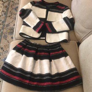 Zara Blazer and Skirt 2 Piece Set